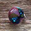 glas sieraden verstelbare ring roze