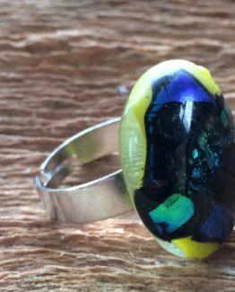glas-sieraden-ring-metallic