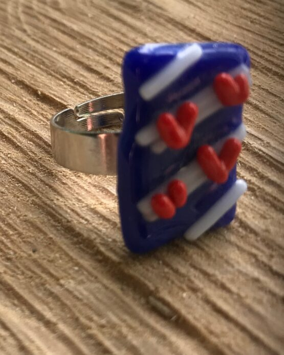 Friesland glas sieraden ring2